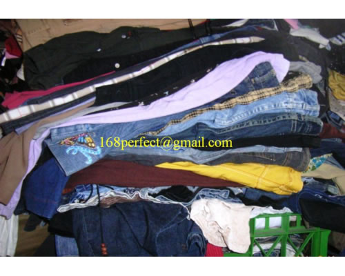 mixed used clothes